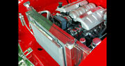 1955 1956 1957 Chevy Radiator And Core Support For An Ls Engine