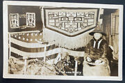 Mint Usa Rppc Real Picture Postcard Native American Indian Chief Johnson