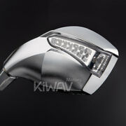 Silver Mirror Built-in Fist Led Running And Indicator 10mm 1.5pitch For Bmw R1200r