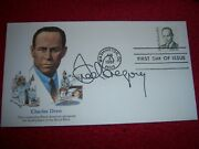 Frederick D. Gregory Signed/autographed Charles Drew His Uncle Fdc Envelope