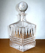 Waterford Crystal Lismore Diamond Square Decanter W/stopper 40008788 New Boxed