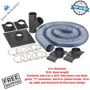 Central Machinery Dust Collector Hoses And Accessories Kit System For Woodshop New