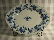 Royal Meissen Fine China Of Japan Small Oval Serving Platter