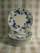 Royal Meissen Fine China Of Japan Bread And Butter Plates - Eight