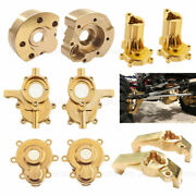 Brass Counterweight C Hub Steering Portal Drive Cover For Redcat Gen8 Rc Crawler