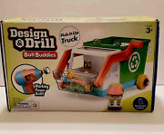 Educational Insights Design And Drill Bolt Buddies Recycling Truck I Drill Works
