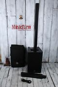 Yamaha Stagepas 1k Portable Pa System 100 Watt Pa Column With Subwoofer And Mixer