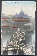 1900s Austrian Post Office In China Postcard Cover To Prague Bohemia Moravia