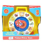 See 'n Say The Farmer Says Fisher-price Toy Pull Cord 12 Different Animal Sounds
