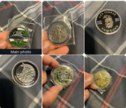 3 Police Challenge Coin Lot From Diff Pct/ Units With St. Michael In The Back
