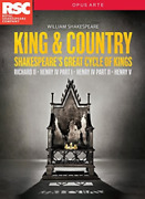 Shakespeare-king And Country Box Dvd New