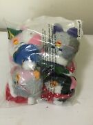 Furby Christmas Ornaments Set Of 4 Rare 1999 Unopened In Sealed Bag