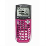 Texas Instruments Ti84 Plus C Silver Edition Graphing Calculator Full Color Dis