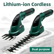 Garden Tools Shrub Cutter 7.2v 2-in-1 Grass Trimmer Lithium-ion Cordless Hedge