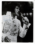 Elvis Presley Signed Autographed 8x10 Photo Amco Roger Epperson 14845
