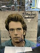 """Huey Lewis And The News Signed Lp Vinyl """"picture This"""" Beckett Coa."""