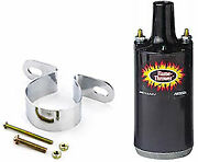 Pertronix 45111k Flame-thrower Ii Coil And Bracket Kit