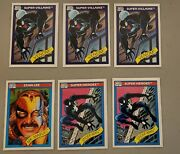 1990 Marvel Impel Series 1 Card Lot Mr. Marvel,spiderman,wolverine And Many Many