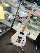 Vintage Ovation Ultra Gs Electric Guitar - Cream ⭐good Working Condition⭐