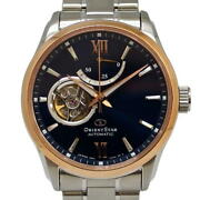Orient Analog/power Reserve Ref. E6r4-uad0 Automatic/self-winding Navy Dial Of