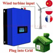 Tie Inverter With Limiter Wind Power Grid Load Controller For 3 Phase 48v 60v Wi