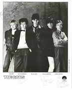 The Cars Signed Autographed 8x10 Photo Amco 14854