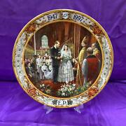 Royal Doulton Queen And Philip Limited Ed Golden Wedding Anniversary Plate