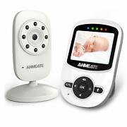 Wireless Video Baby Monitor With Digital Camera Anemate Digital 2.4ghz