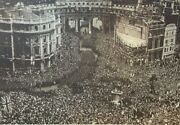 1919 Vintage Illustration Admiralty Arch Victory Parade In London