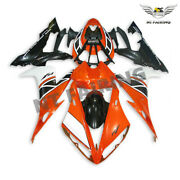 Ntu Orange Plastic Set Injection Fairing Fit For Yamaha Yzf R1 2004-2006 T030