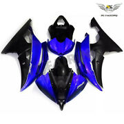 Ft Blue Black Injection Fairing Kit Fit For 2008-2016 Yamaha Yzf R6 Plastic T085