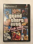 Grand Theft Auto Vice City Playstation 2 Ps2 New - Sealed - 1st Print