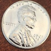 1943 S Lincoln Wheat Cent Steel Penny