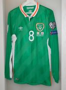Match Worn Shirt Ireland National Team World Cup 2018 Everton Crystal Palace