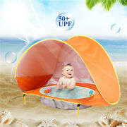 Portable Sun Shade Baby Games Beach Tent Build Outdoor Swimming Pool Kids