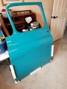 55 Chevy Truck Doors From Summit Professionally Painted With Best Clear Color...