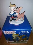 Rare Enesco Rudolph And The Island Of Misfit Toys Loveable Misfits Rudolph And...