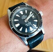 Technos Sky Diver 30 Jewel-1960and039s Vintage Mechanical Automatic Watch- Ref2472