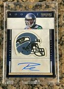2012 Prominence Russell Wilson Team Helmet 235 Relic Rpa Rookie Rc Auto /150
