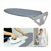 Wall-mounted Ironing Board With Heat Resistant Cover 37.4in Fold Drop Down