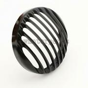 5.75'' Aluminum Motorcycle Headlight Grill Cover For Harley Davidson Sportster