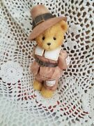 Cherished Teddies Jedediah,  Giving Thanks For Friends, Thanksgiving Bear