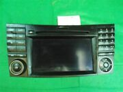 Audio Equipment Radio 219 Type Cls63 Fits 10-11 Mercedes Cls-class 868244