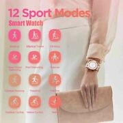 42mm Smart Watch 5atm Womenand039s 12days Battery Music Control For Android Ios Item