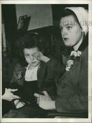1944 Press Photo Pearl Dalton Arrested For Ohio Kidnapping And Nancy Hesler