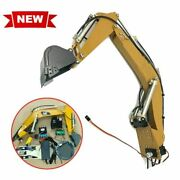 Upgrade Rc Hydraulic Excavator Boom Assembly System For Huina 580 Modified Parts