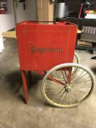 Gold Medal Popcorn Machine Cart. Project. Parts . Not Working . Vintage