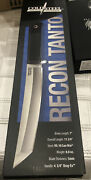 """Cold Steel Recon 1 Tanto 7"""" Fixed Blade Knife Vg-10 San Mai 5mm Blade"""