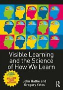 Visible Learning And The Science Of How We Learn By John Hattie Used