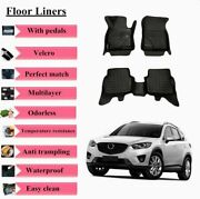 3d Boot Floor Liners Mats Custom Fit High-cover For Mazda Cx-5 2013-2019